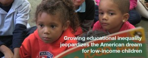 Growing Educational Equality Jeopardizes the American Dream for Low-Income Children